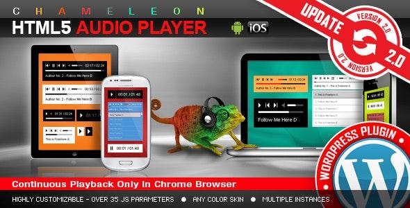 HTML5 Audio Player WordPress Plugin - CodeCanyon Item for Sale