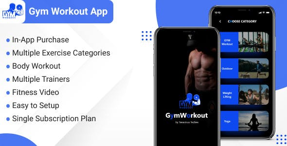 Gym Workout - Fitness App for Personal Trainers