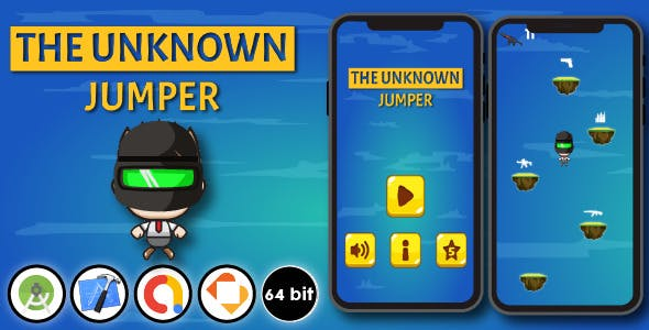 The Unknown Jumper - Android & Xcode & Buildbox Game Template