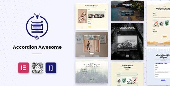 WordPress Accordion Plugin - Accordion Awesome Pro