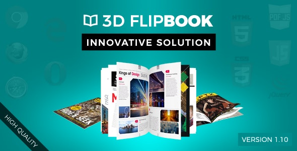 3D FlipBook - CodeCanyon Item for Sale