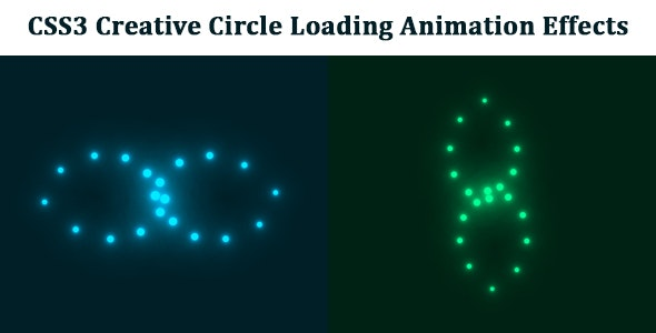 CSS3 Creative Circle Loading Animation Effects - CodeCanyon Item for Sale