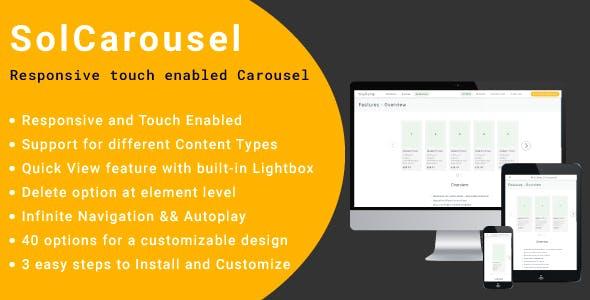 SolCarousel - jQuery Carousel Plugin