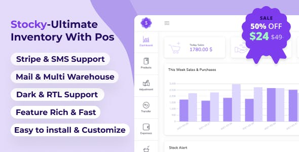 Stocky - Ultimate Inventory Management System with Pos