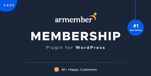 ARMember - WordPress Membership Plugin - CodeCanyon Item for Sale