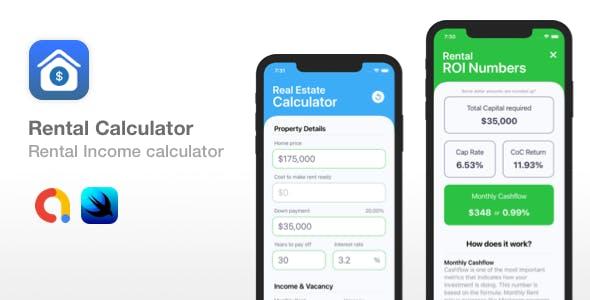 Rental Calculator - Income & Cashflow for Rental Properties