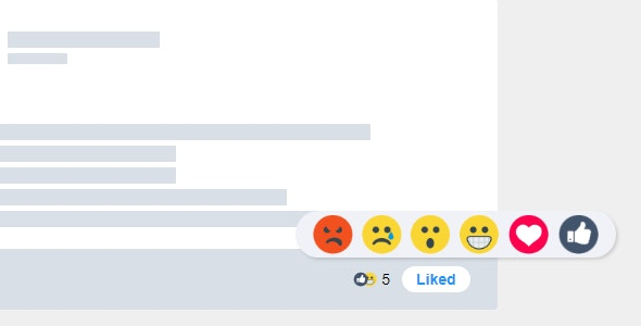 Reaction Button jQuery Plugin Makes Everything Reactable - CodeCanyon Item for Sale