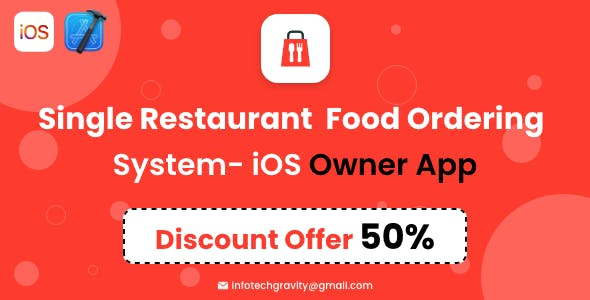 Single Restaurant - iOS Owner App