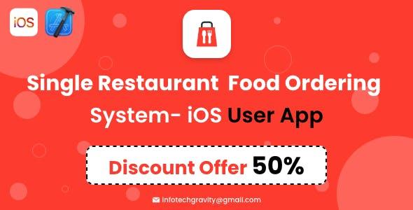 Single Restaurant - iOS User App