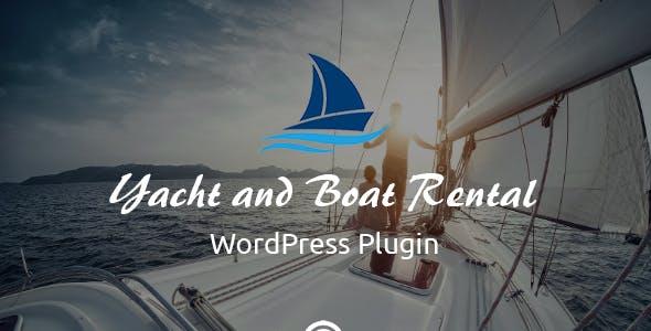 Yacht and Boat Rental - WordPress Booking Plugin