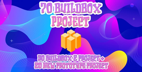 Hobiron 70 Buildbox 2 Project (50 Ready to Publish + 20 New Prototypes) - CodeCanyon Item for Sale