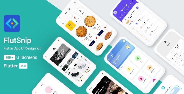 FlutSnip UI KIT in flutter - CodeCanyon Item for Sale
