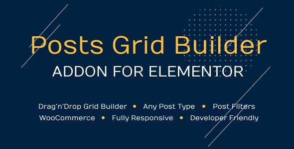 Posts Grid Builder for Elementor