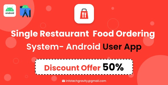 Single Restaurant - Android User App - CodeCanyon Item for Sale