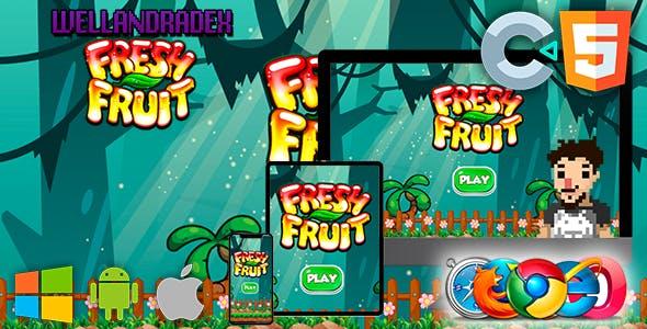 Fresh Fruit - GAME HTML5 (construct 2 / 3)