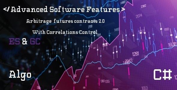 Strategy Arbitrage Correlation Control ES GC