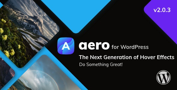 Aero for WordPress - Image Hover Effects - CodeCanyon Item for Sale