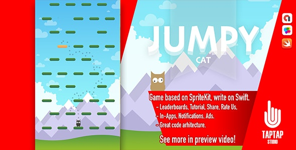 Jumpy Cat - CodeCanyon Item for Sale