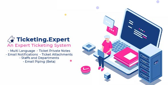 Ticketing Expert - Help desk system with email piping