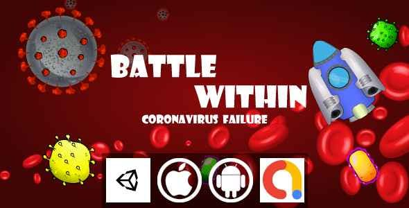 Battle Within CoronaVirus Failure Unity Shooter Game With Admob For Android and iOS
