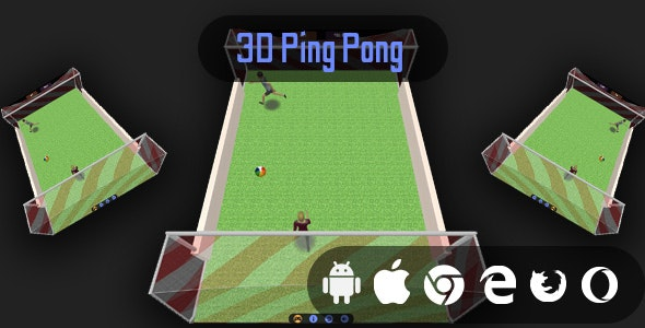 3D Ping Pong - Cross Platform Classic Casual Game - CodeCanyon Item for Sale