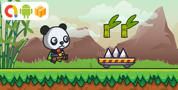 Super Panda Android Game with AdMob + Ready to Publish