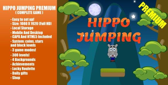 Hippo Jumping PREMIUM | Construct 2
