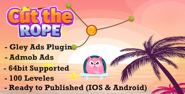 Cut The Rope Physics Puzzle - Complete Unity Temaplate - CodeCanyon Item for Sale