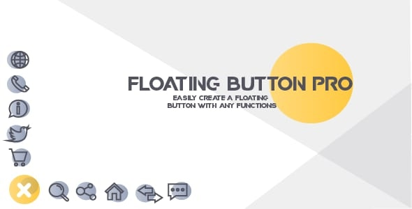 Floating Button - creating sticky Floating Buttons with any Actions - CodeCanyon Item for Sale
