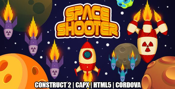 Space Shooter (CAPX   HTML5   Cordova) Endless Space Game