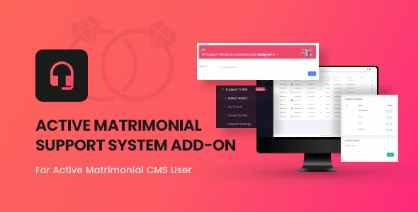 Active Matrimonial Support Ticket add-on v1.0