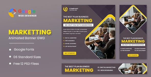 Marketing Animated Banner GWD