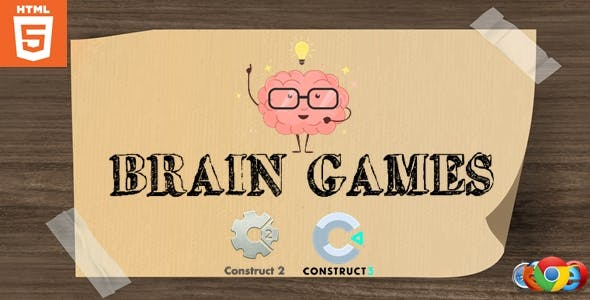 Brain Games - Puzzle game - HTML5