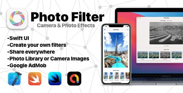 SwiftUI Photo Filter | iOS & macOS Universal App | Google AdMob