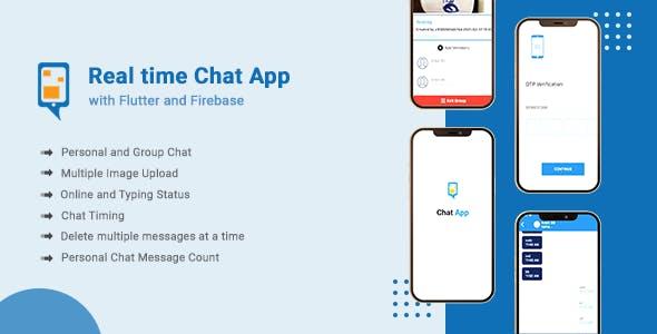 Flutter Chat App With Firebase Realtime Database