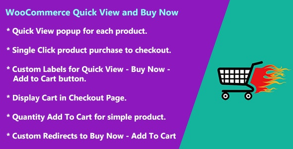 WooCommerce Quick View and Buy Now - CodeCanyon Item for Sale