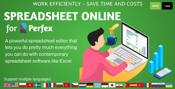 Spreadsheet Online for Perfex CRM - CodeCanyon Item for Sale