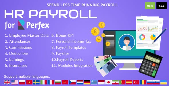 HR Payroll for Perfex CRM