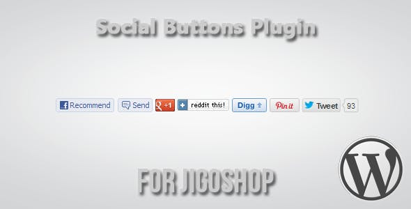 Social Buttons for Jigoshop