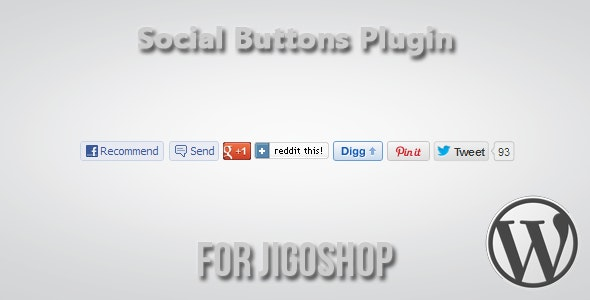 Social Buttons for Jigoshop - CodeCanyon Item for Sale