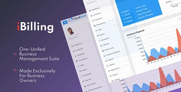 iBilling v4.9.0 – CRM, Accounting and Billing Software