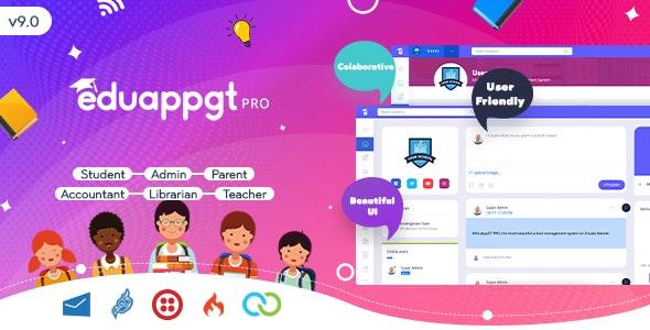 EduAppGT Pro v9.1 – School Management System