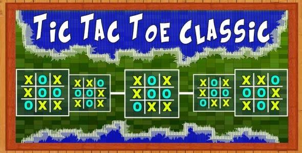 Tic Tac Toe Classic - CodeCanyon Item for Sale