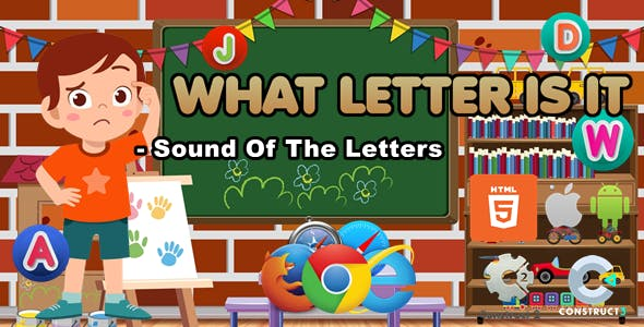 What Letter Is It? Educational Game - (.Capx/C3p)