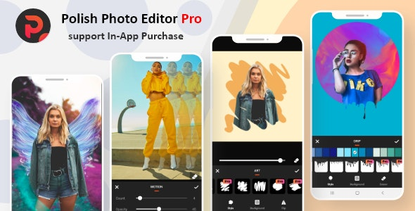 Polish Photo Editor Pro - All In One Photo Editor - In-App Purchase - CodeCanyon Item for Sale