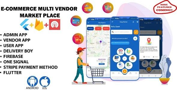 Multi vendor app for Restaurant, pharmacy, Grocery, I.T etc. - CodeCanyon Item for Sale