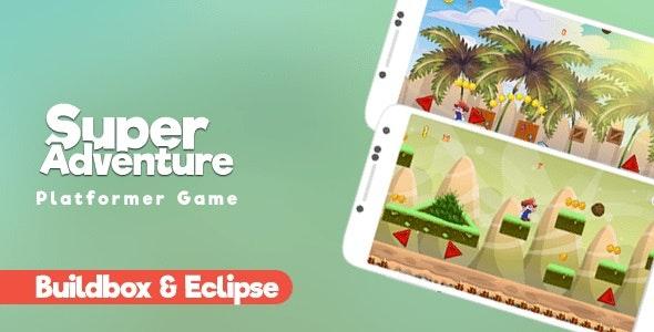 Super Adventure   Google AdMob   Buildbox & Eclipse   Games - CodeCanyon Item for Sale
