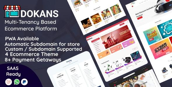 DOKANS v3.0 – Multitenancy Based Ecommerce Platform (SAAS)