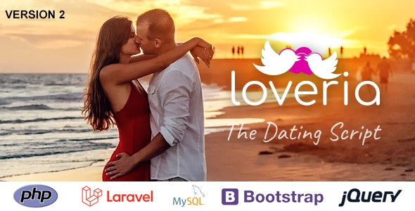 Loveria - The Laravel PHP Dating Script - CodeCanyon Item for Sale