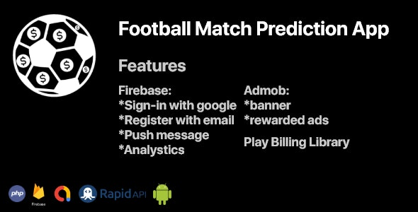 Football Predictions Android App With REST API - CodeCanyon Item for Sale